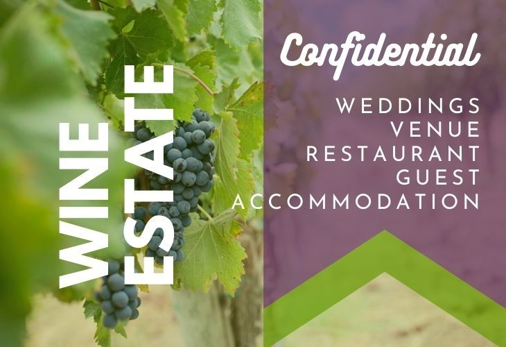 Wine Estate with Wedding Venue Guest Accommodation & Restaurant | AGF0451